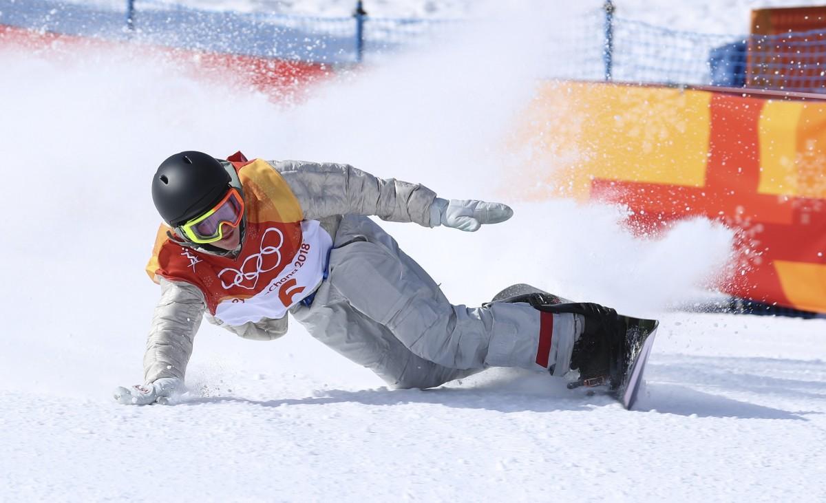Редмонд Джеррард - чемпион Олимпийских игр-2018 / REUTERS