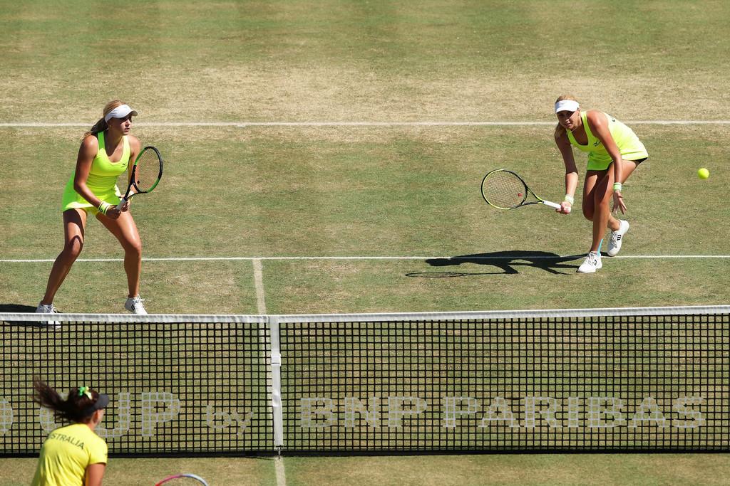 Сборная Украины по теннису в упорной борьбе уступила Австралии в Кубке Федерации / tennisua.org