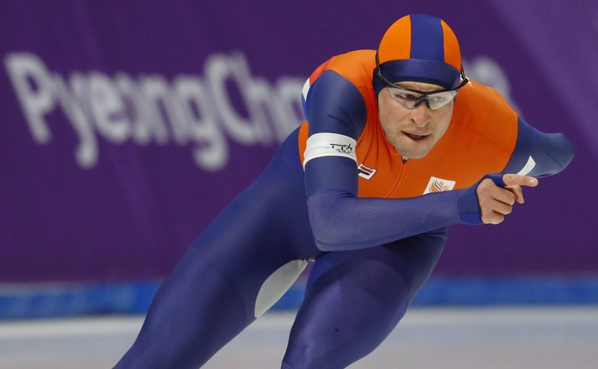 Свен Крамер - чемпіон Олімпійських ігор-2018 / REUTERS