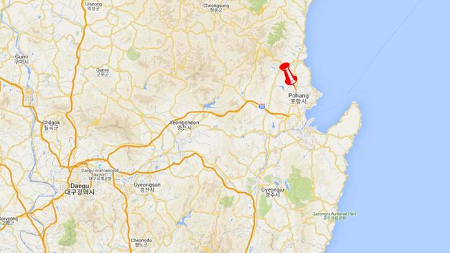 В корейском Пхохане были зафиксированы толчки магнитудой 4,6 балла