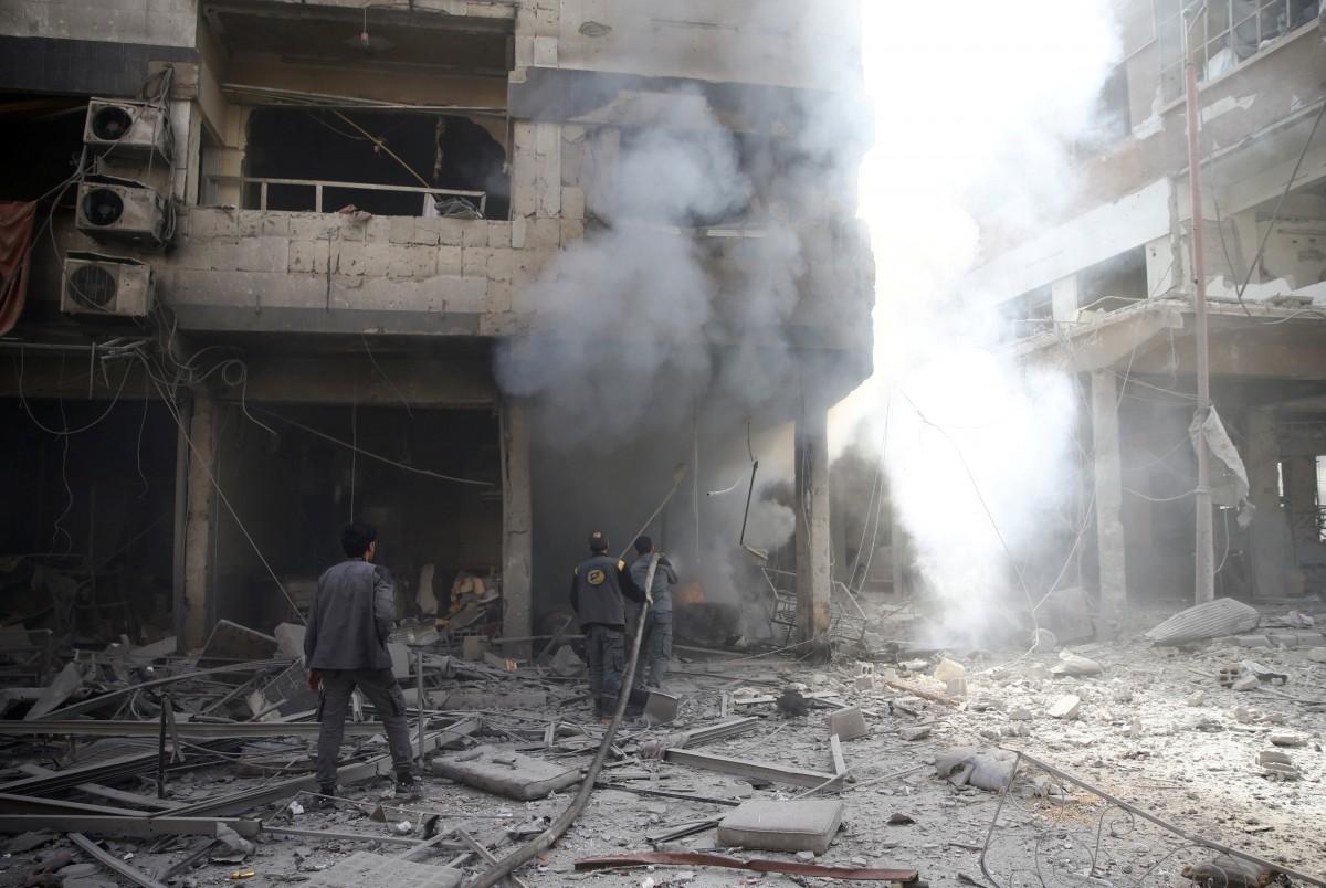 Наслідки бойових дій в Сирії / REUTERS