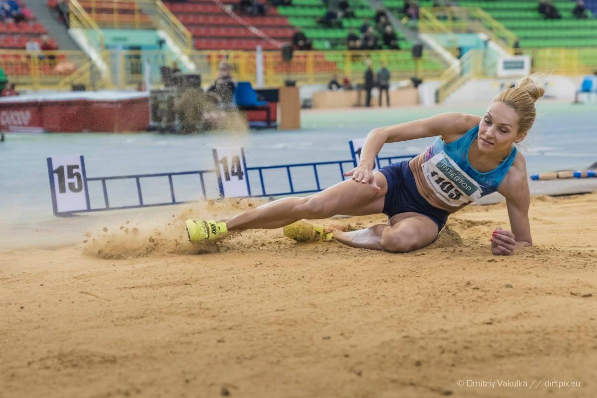 Ольга Саладуха отметила, что на ее карьеру повлияла тяжелая травма / фото ФЛАУ