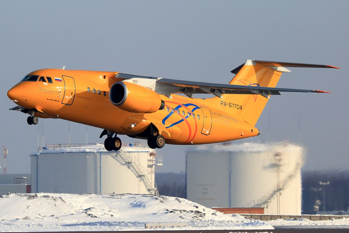 Самолет Ан-148 / REUTERS