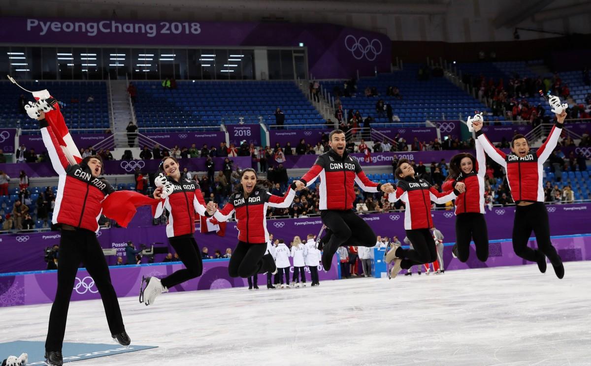 Збірна Канади з фігурного катання / REUTERS