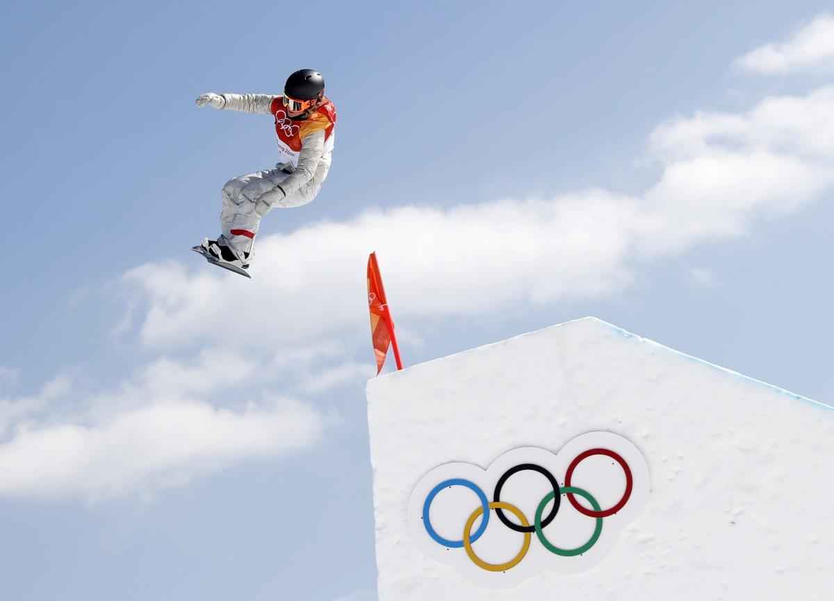 Джейми Андерсон - олимпийская чемпионка-2018 / REUTERS