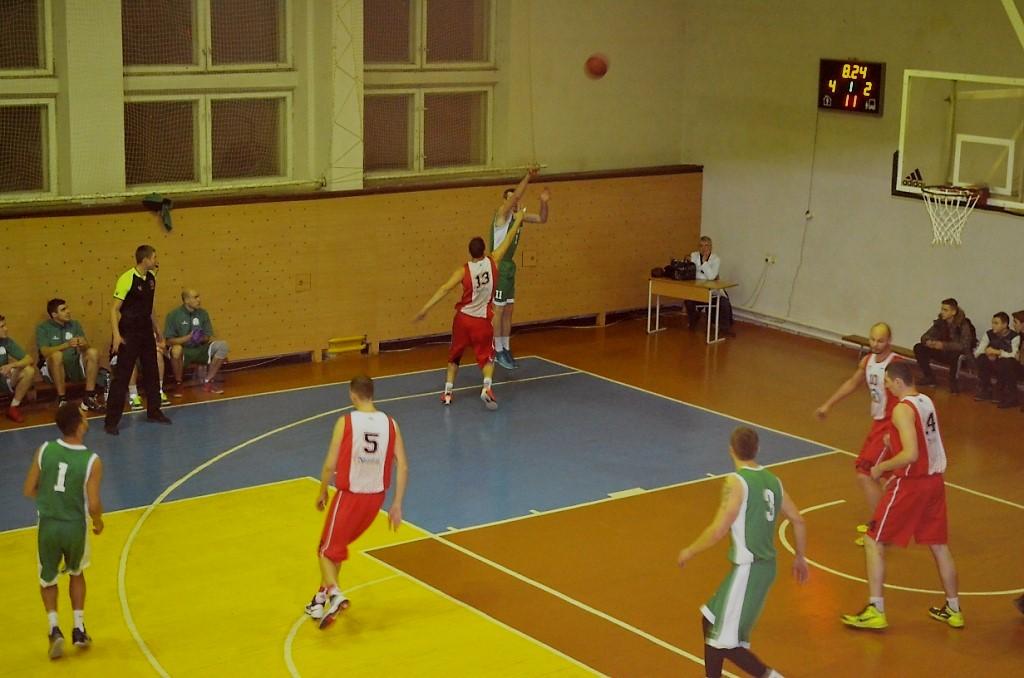 Житомирские баскетболисты завоевали победу у винничан в рамках Первенства Украины / фото zt-rada.gov.ua