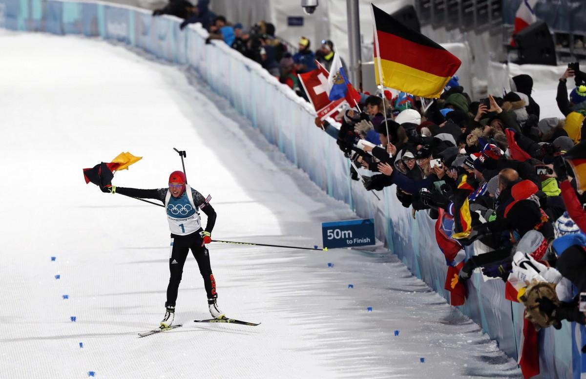 Лаура Дальмайер выиграла второе золото Олимпиады-2018 / REUTERS