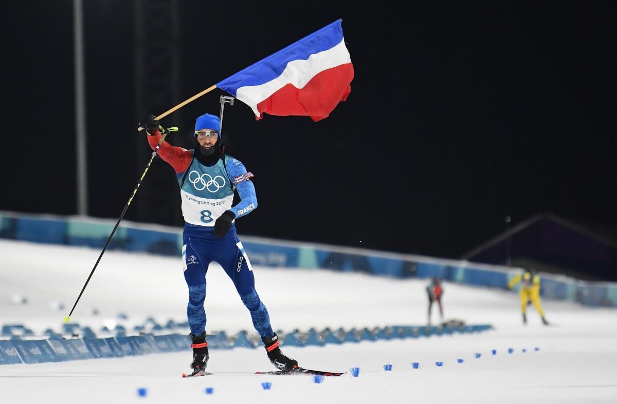 Мартен Фуркад - чемпіон Олімпійських ігор-2018 / REUTERS