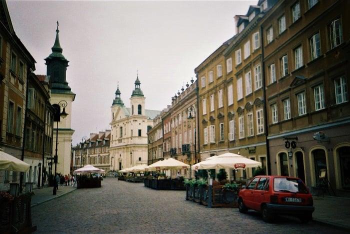 Старый город Варшавы / фото УНИАН