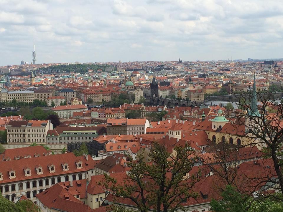 Вид на Прагу / фото УНІАН