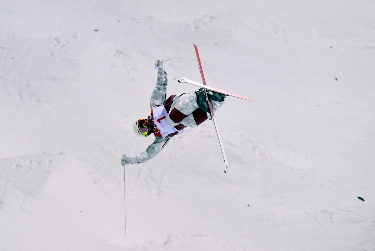 Микаэль Кингсбери - чемпион Олимпийских игр-2018 / REUTERS