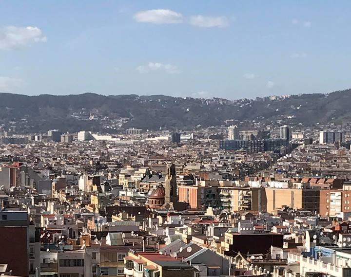 Вид на Барселону / фото УНІАН