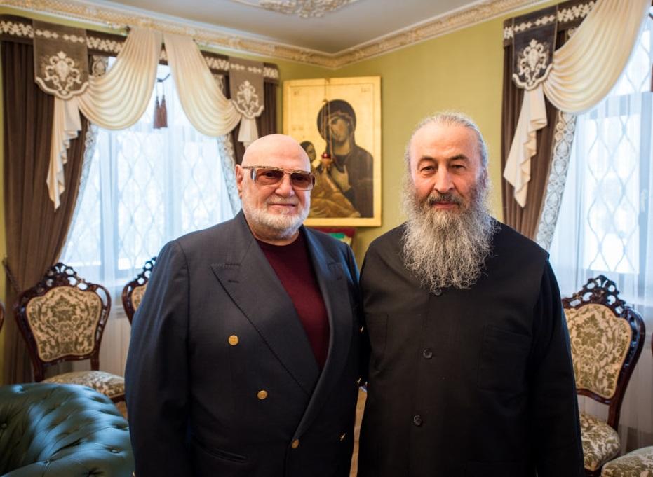 Митрополит Онуфрій зустрівся з Яном Табачником / news.church.ua