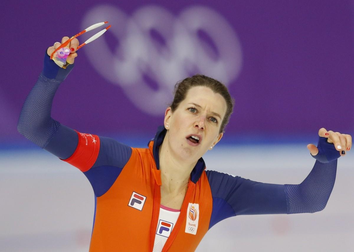 Ирен Вюст - пятикратная чемпионка Олимпийских игр / REUTERS