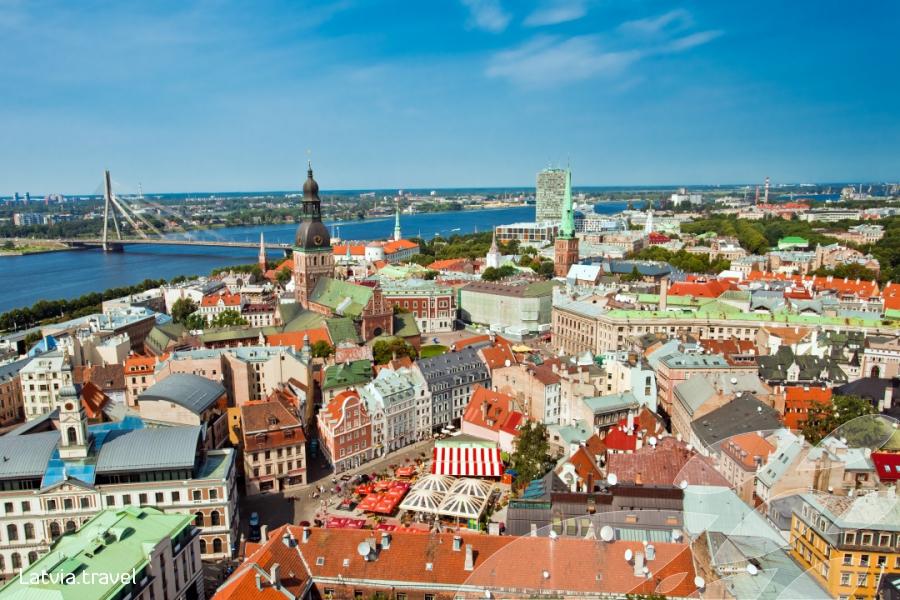 Ризька панорама / фото latvia.travel