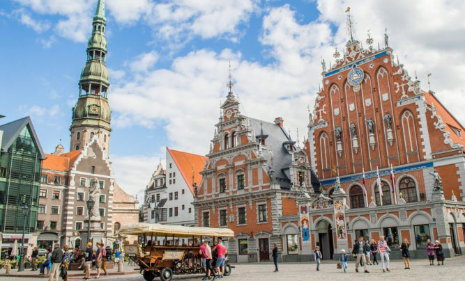 Історичний центр Риги / фото latvia.travel