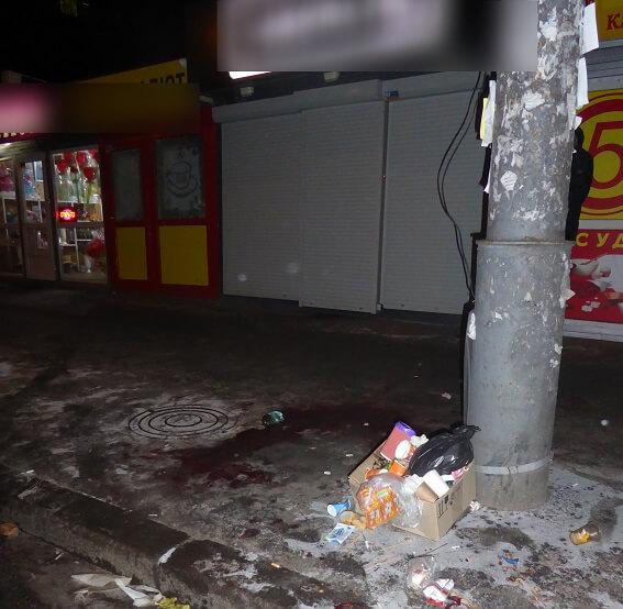 Різанина сталася біля станції столичного метро / фото kyiv.npu.gov.ua