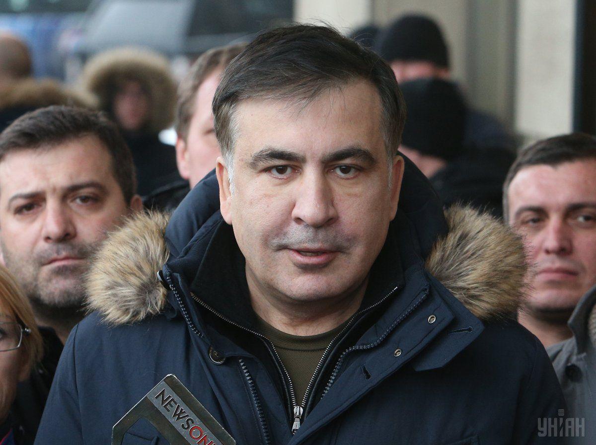 Отсутствие Саакашвили как лидера сказалось на формате массовых акций / фото УНИАН