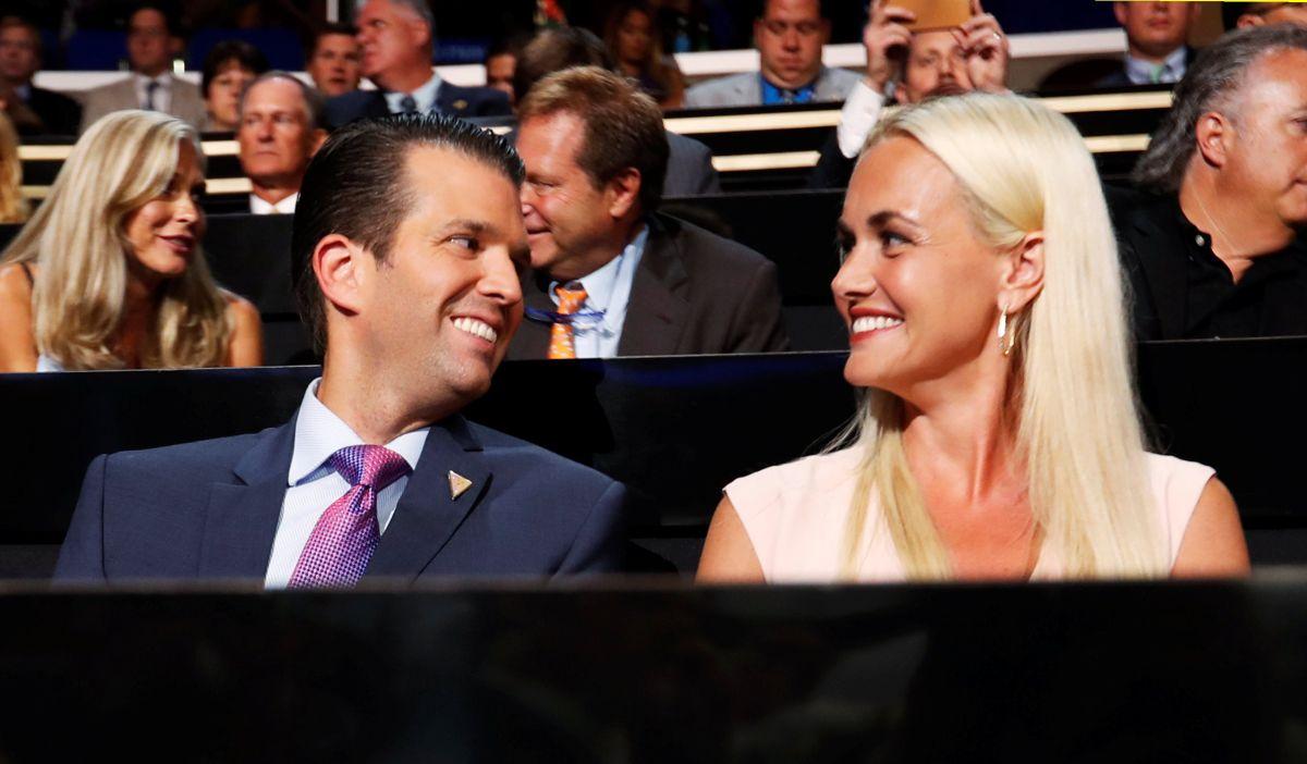 Дональд Трамп младший и Ванесса Трамп / REUTERS