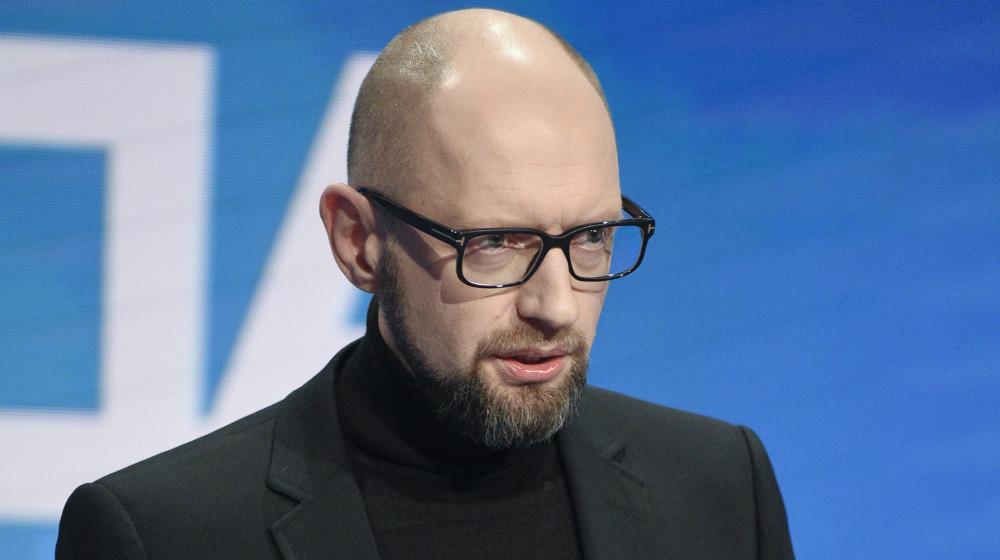 Яценюк закликає Порошенка підписати закон про деокупацію / nfront.org.ua