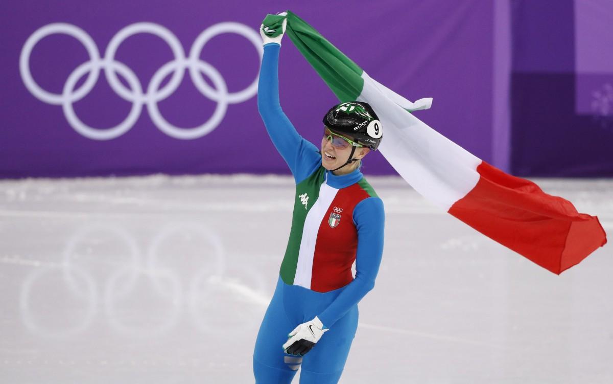 Фонтану стала олімпійською чемпіонкою в спринті в шорт-треку / Reuters