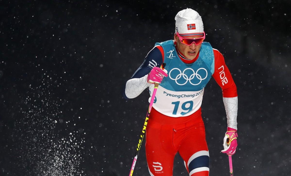 Клебо був найшвидшим у чоловічому лижному спринті в Пхенчхані / Reuters