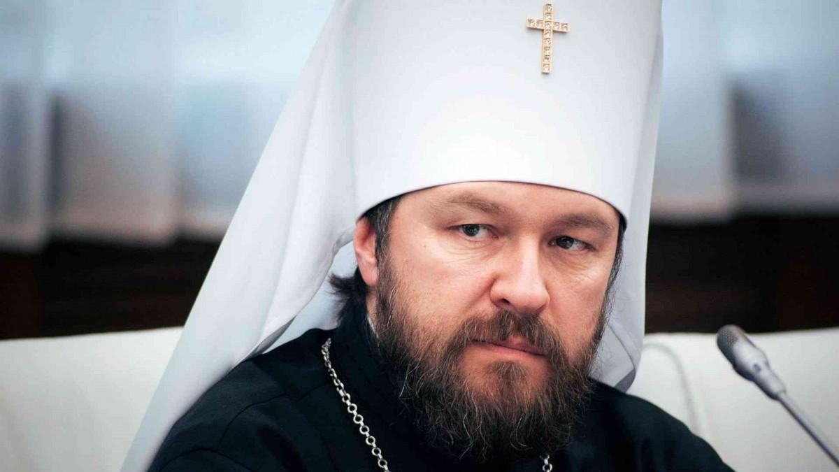 Митрополит Иларион: каноническую Церковь вУкраинском государстве пробуют совместить срасколом