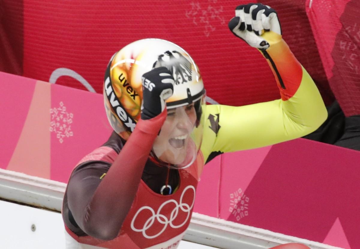 Гайзенберг виграла змагання одиночниць в санному спорті / Reuters