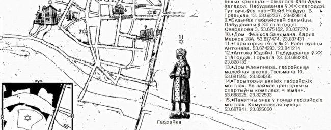 Автор карти включив в маршрут 16 об'єктів єврейської спадщини / jewishnews.com.ua