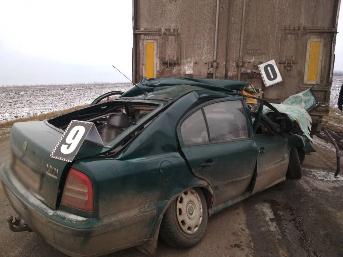 В результате ДТП на Кировоградщине погибли трое людей \ фото kg.npu.gov.ua