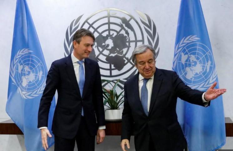 Хальбе Зейлстра та Антоныо Гутеррес / REUTERS
