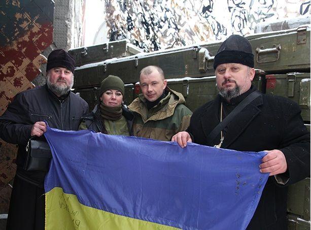 Священники с первых дней войны поддерживают украинских военных / cherkasy-orthodox.com.ua