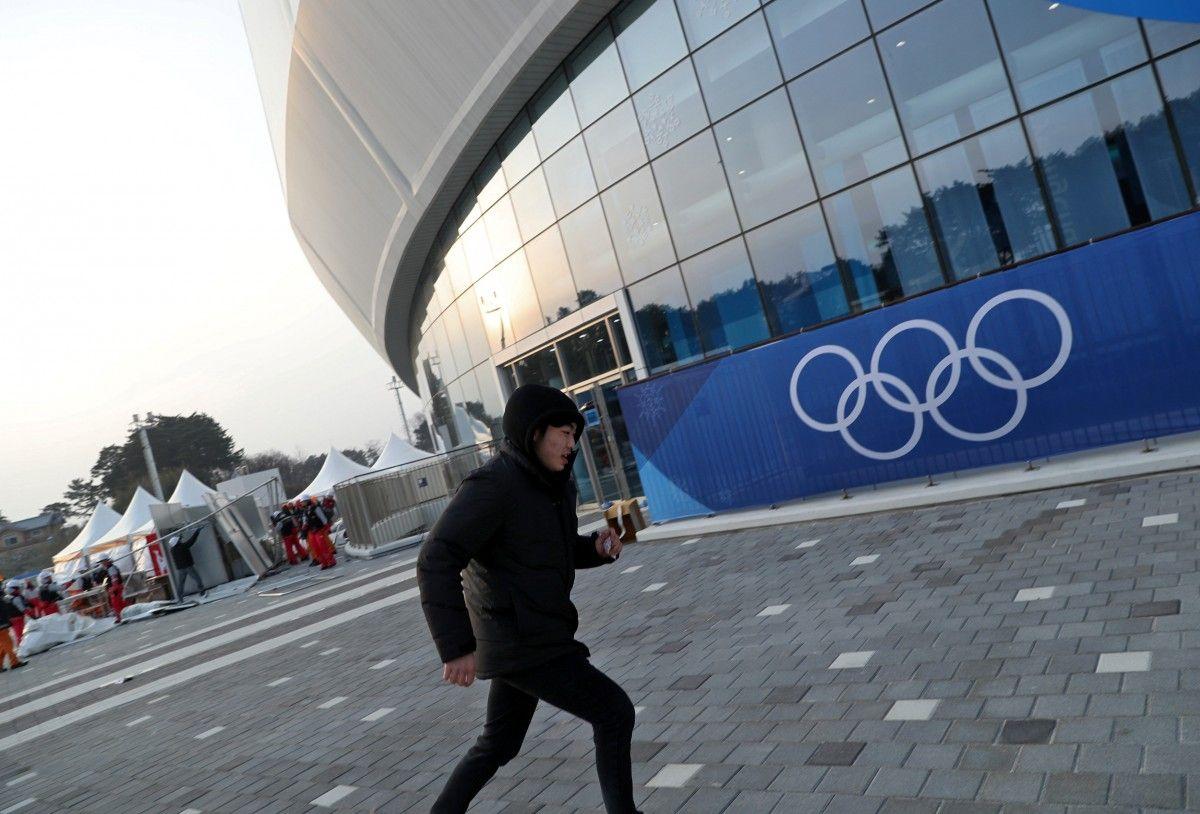 В олимпийском Пхенчхане начался страшный ураган и эвакуацию людей / Reuters