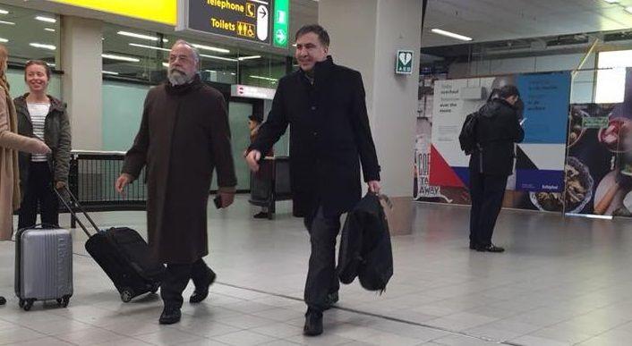 Экс-президент Грузии уже обратился через своего юриста кглавеСБУ / фото Алексей Гончаренко, Facebook