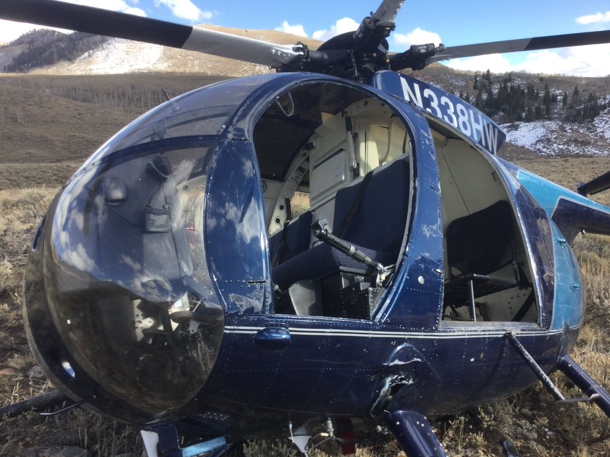 ВСША вертолет потерпел крушение после столкновения слосем