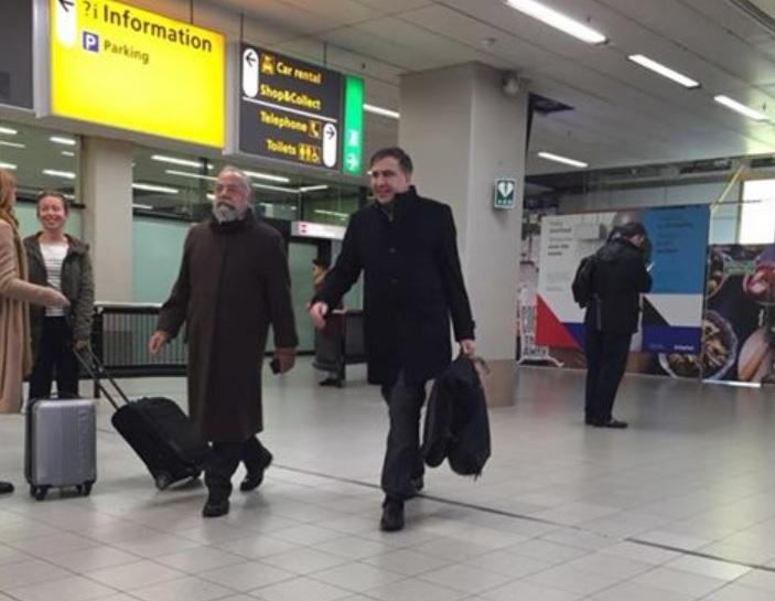 Саакашвили в Нидерландах / фото facebook.com/alexeygoncharenko