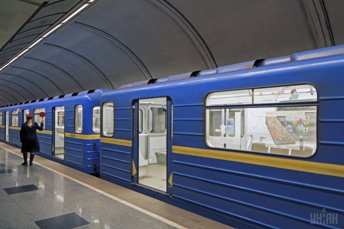 """На """"красной ветке"""" киевского метро возникло ЧП / УНИАН"""