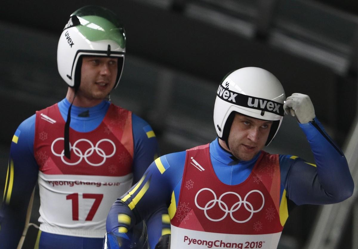 Украинские саночники Оболончик и Захаркив после 20-го места на Олимпиаде: настраиваемся на эстафету