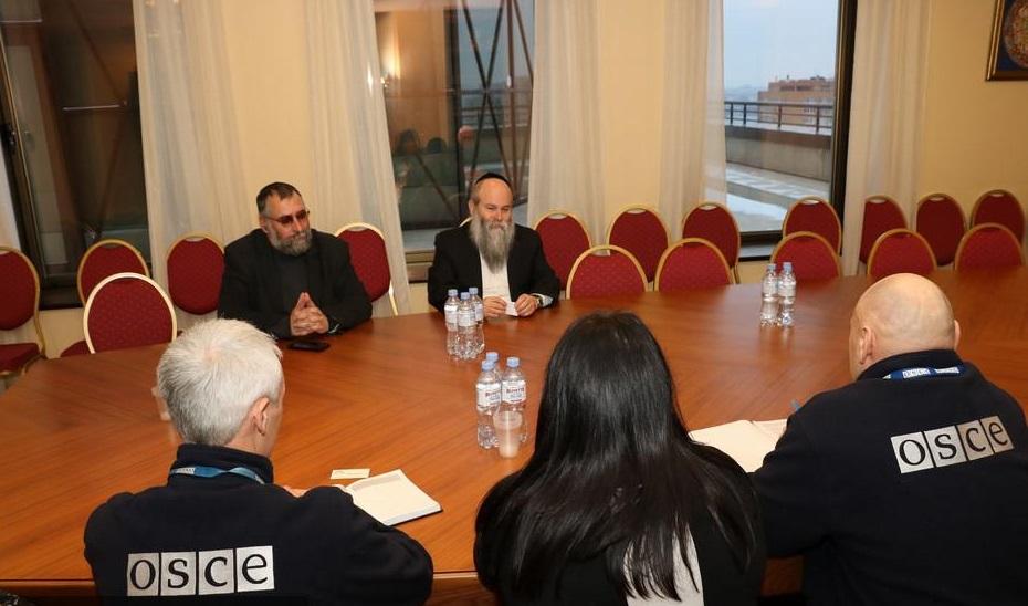 У ході зустрічі обговорено низку питань по динаміці рівня ксенофобії та антисемітизму / djc.com.ua