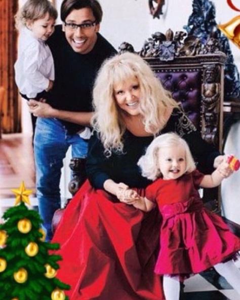 Пугачова поділилася сімейним фото / фото instagram.com/alla_orfey