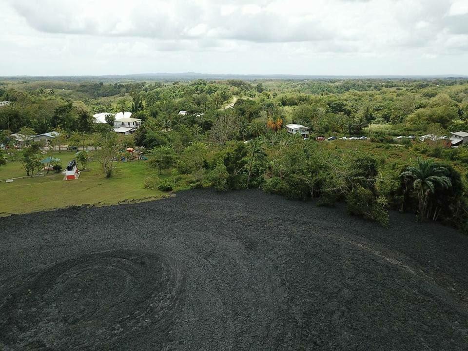 Грязевой вулкан на острове Тринидад / twitter.com/TTWeatherCenter