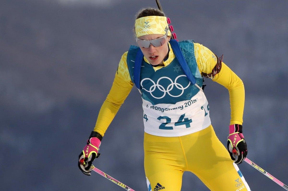 Шведка Эберг сенсаційно виграла індивідуальну жіночу гонку в біатлоні / Reuters