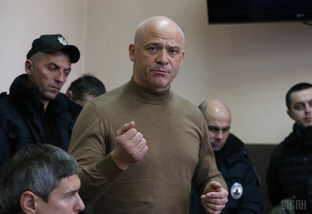 Геннадій Труханов у суді / фото УНІАН