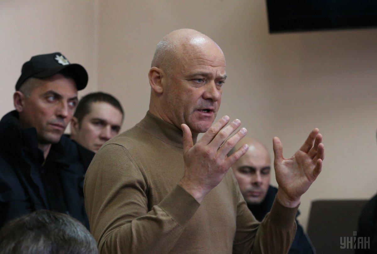 Геннадий Труханов в суде / фото УНИАН