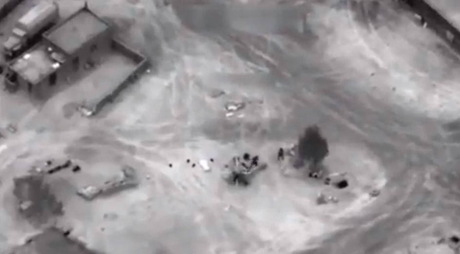 В МИД РФ подтвердили гибель пяти россиян в результате авиаудара США в Сирии в начале февраля / Скриншот