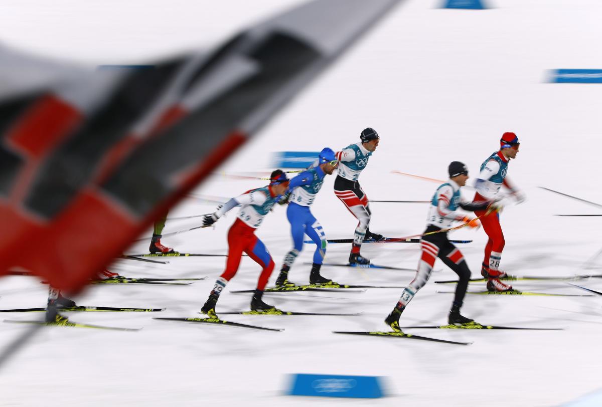 В індивідуальній гонці українські біатлоністи були далекі від числа призерів / REUTERS