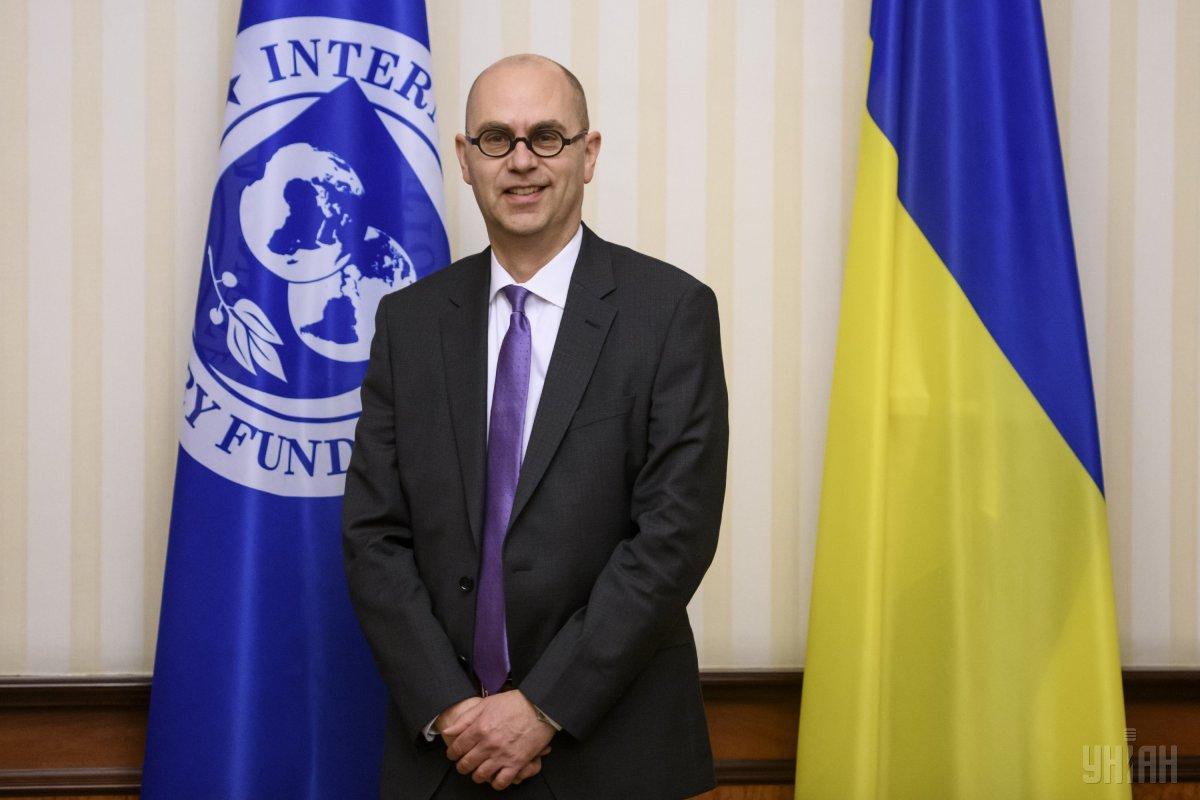 В мае Украину посещала официальная миссия МВФ во главе с Роном ван Роденом/ фото УНИАН