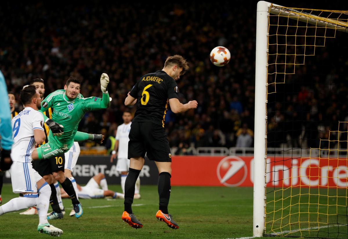 «Динамо» забило бесподобный гол вЛиге Европы