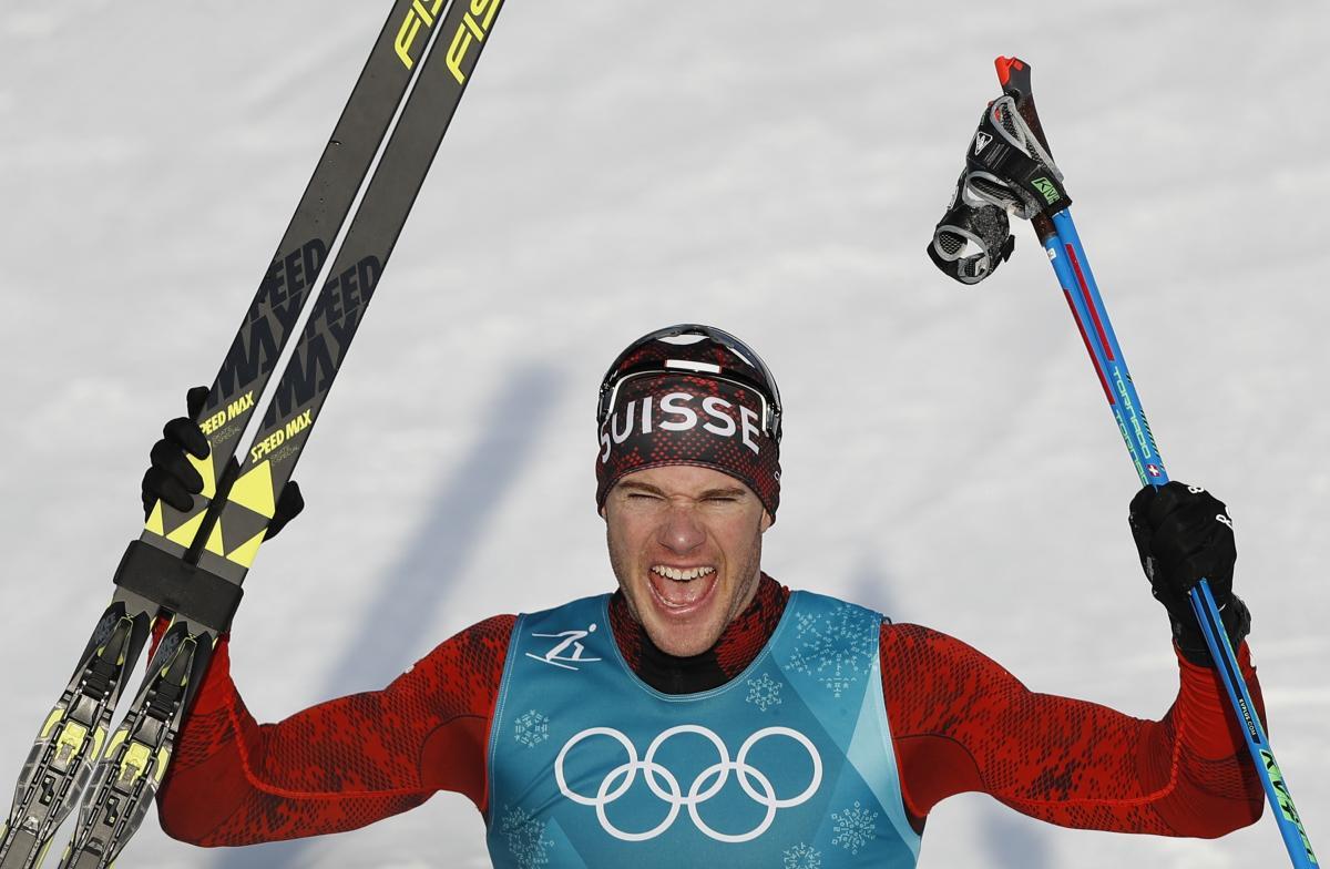 Лыжник Денис Спицов стал бронзовым призером Олимпийских игр