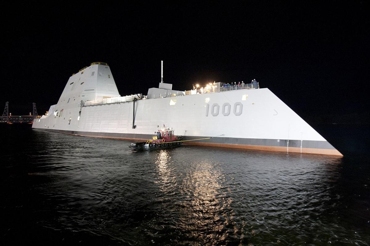 США перевооружают свои новые эсминцы / U.S. Navy photo